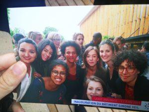 Convivial moment at Santé publique France
